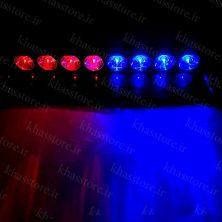 چراغ پلیسی روداشبردی هشت لامپ کد 10