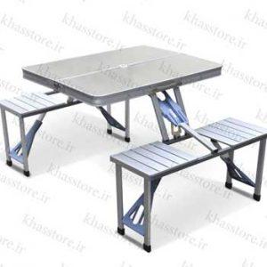 میز و صندلی تاشو 4 نفره
