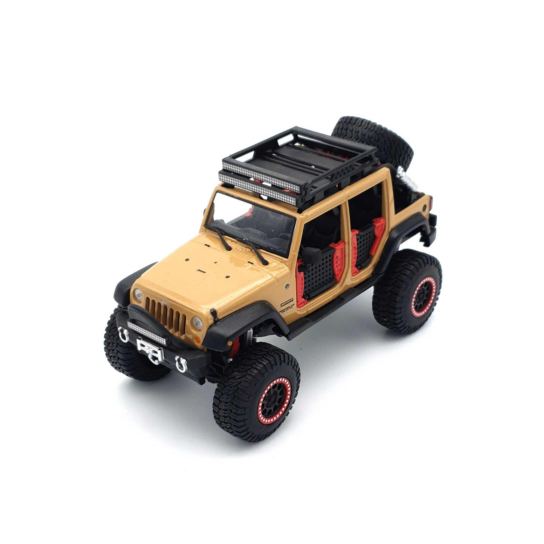 ماکت 2015 jeep wrangler