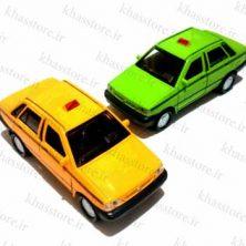ماکت پراید تاکسی