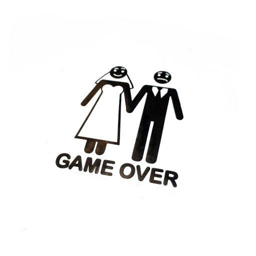 برچسب game over