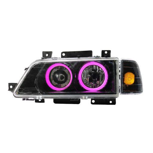 چراغ جلو 405 طرح BMW صورتی
